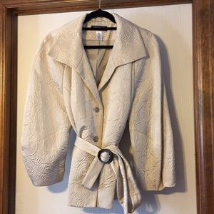Jones New York gold textured jacket, 3X